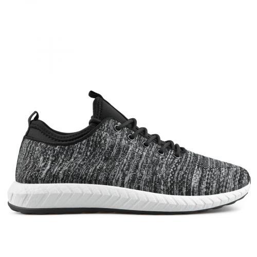 мъжки ежедневни обувки черни 0136928