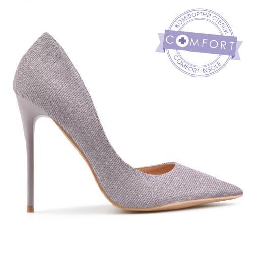 дамски елегантни обувки лилави 0137451