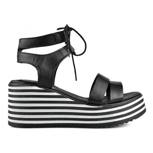 дамски ежедневни сандали черни 0138511