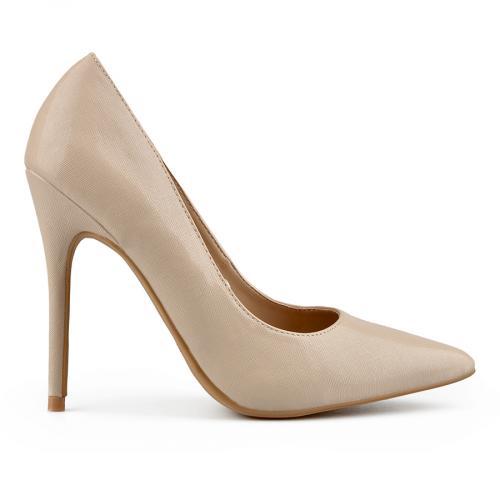 дамски елегантни обувки бежови 0138147