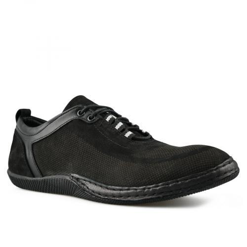 мъжки ежедневни обувки черни 0144269