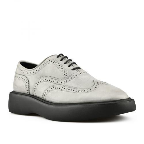 дамски ежедневни обувки сиви 0145492