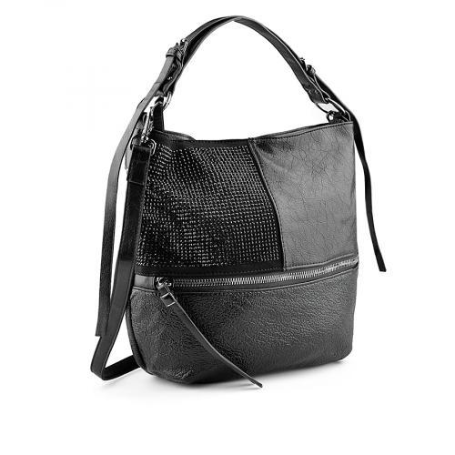 дамска ежедневна чанта черна 0139239