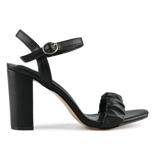 дамски елегантни сандали черни 0143261