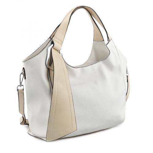 дамска ежедневна чанта бяла 0137976