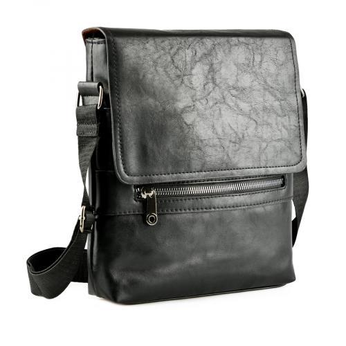 мъжка ежедневна чанта черна 0143887