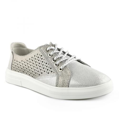дамски ежедневни обувки сребристи 0139739