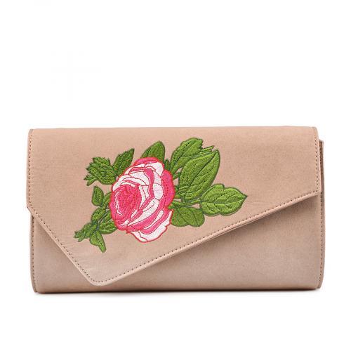 дамска елегантна чанта бежова 0132264