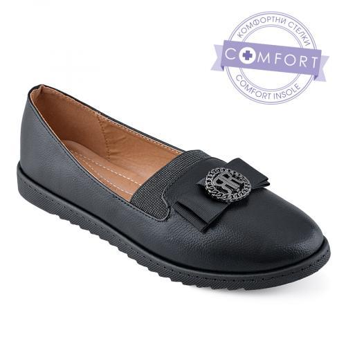 дамски ежедневни обувки черни 0139028