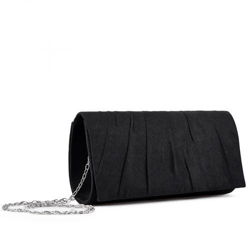 дамска  елегантна чанта черна 0136703