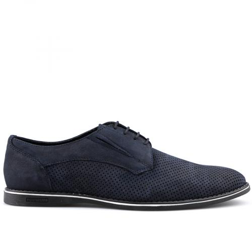 мъжки ежедневни обувки сини 0124502