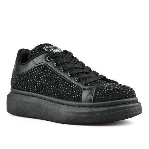 дамски ежедневни обувки черни 0142763