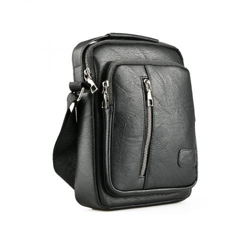 мъжка ежедневна чанта черна 0141597