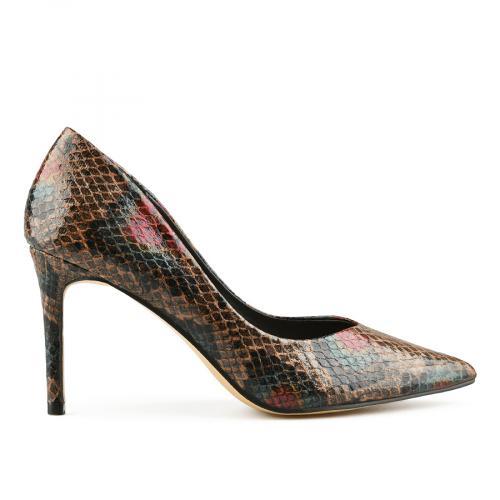 дамски елегантни обувки кафяви 0141692