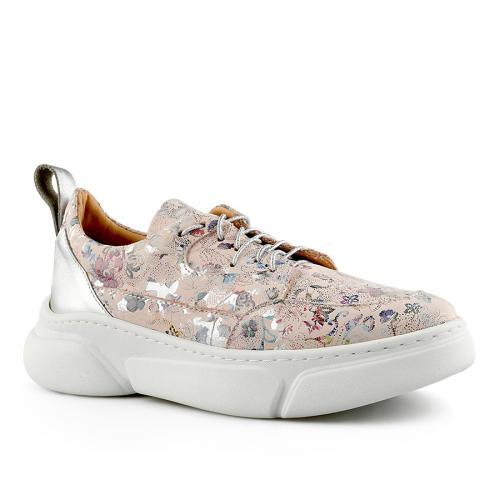дамски ежедневни обувки розови 0141179