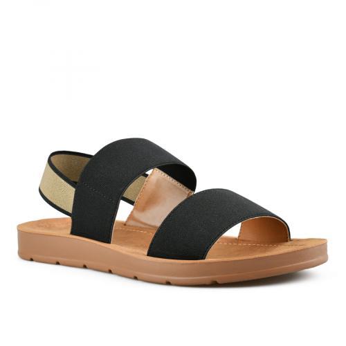 дамски ежедневни сандали черни 0143988