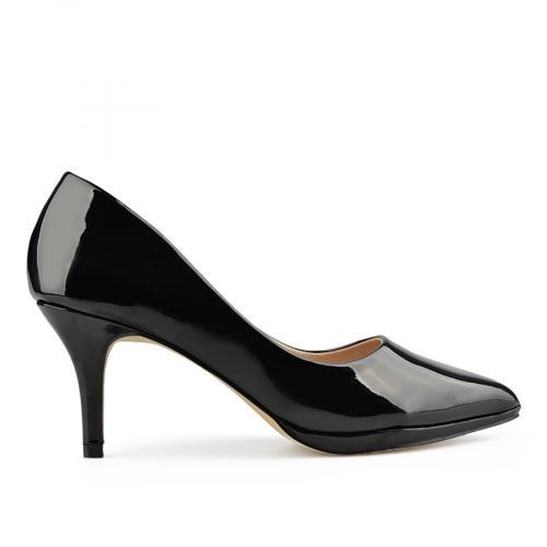 дамски елегантни обувки черни 0137700