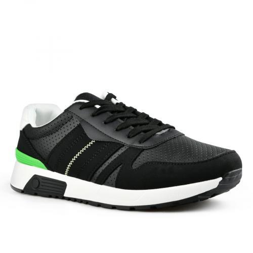 мъжки ежедневни обувки черни 0142618