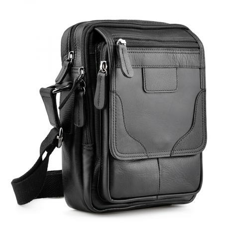 мъжка ежедневна чанта черна 0138052