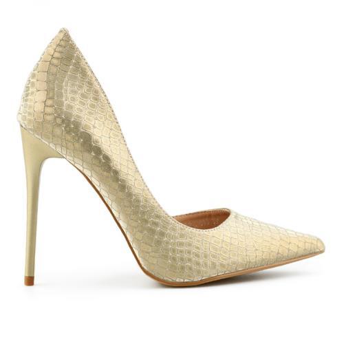 дамски елегантни обувки златисти 0140466