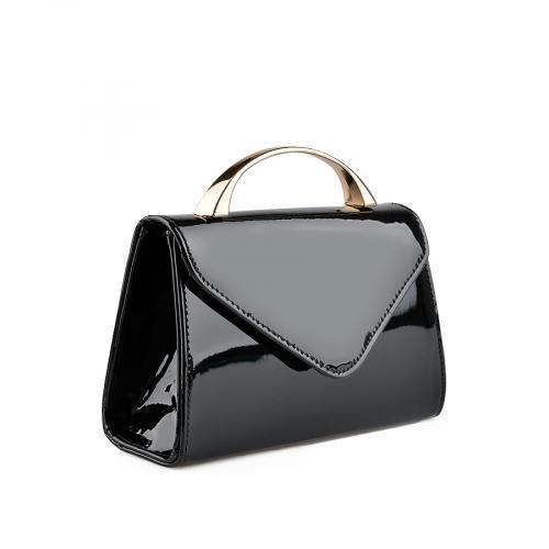 дамска  елегантна чанта черна 0136758