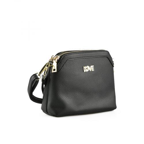 дамска ежедневна чанта черна 0145076