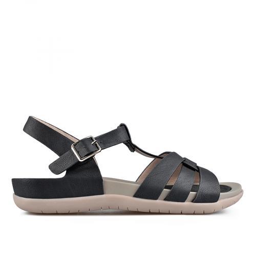 дамски ежедневни сандали черни 0137311