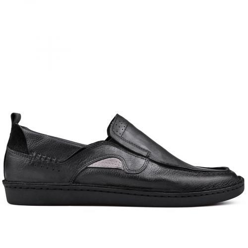 мъжки ежедневни обувки черни 0131010