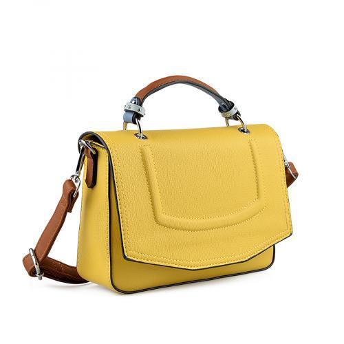 дамска ежедневна чанта жълта 0138671