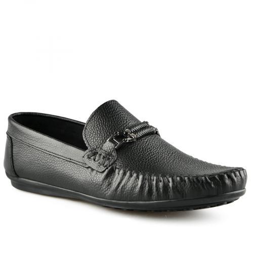 мъжки ежедневни обувки черни 0141245