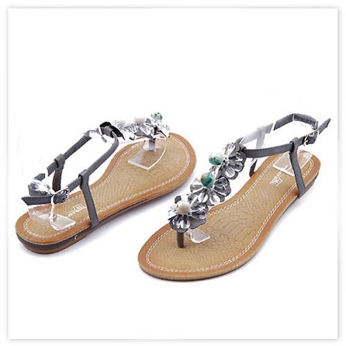 дамски сандали сиви 0113483