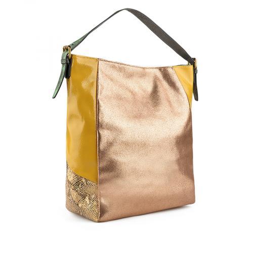 дамска ежедневна чанта златиста 0137971