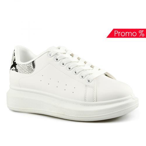 дамски ежедневни обувки бели 0142033