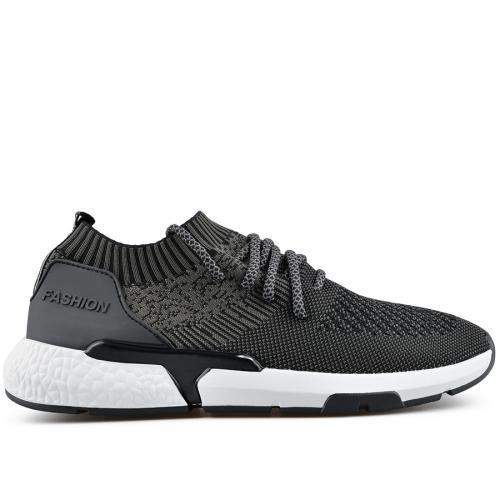 мъжки ежедневни обувки черни 0136950