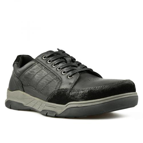 мъжки ежедневни обувки черни 0144912