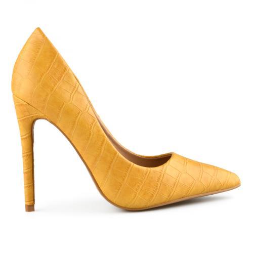 дамски елегантни обувки жълти 0141061