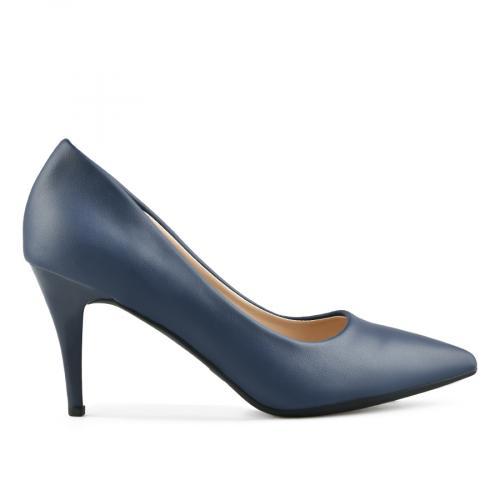 дамски елегантни обувки сини 0144376