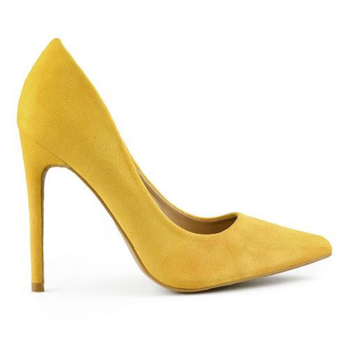 дамски елегантни обувки жълти 0141045