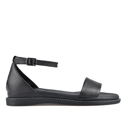 дамски ежедневни сандали черни 0138514