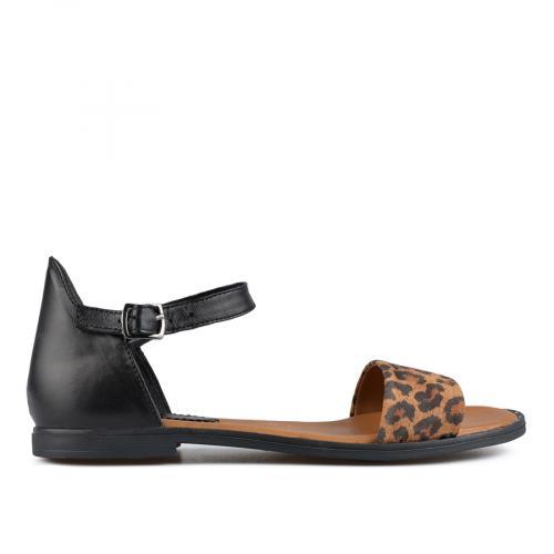 дамски ежедневни сандали черни 0138535