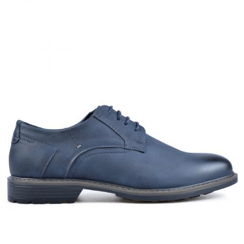 мъжки елегантни обувки сини 0135728