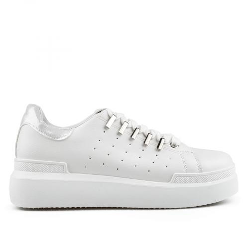 дамски ежедневни обувки бели 0136675