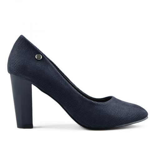 дамски елегантни обувки сини 0141649