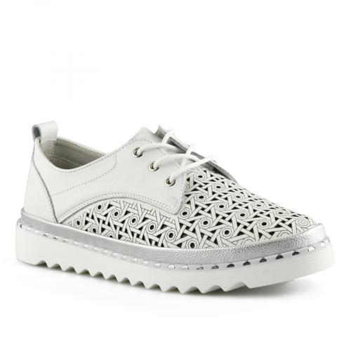 дамски ежедневни обувки бели 0139747