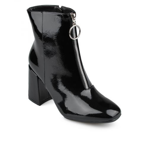 дамски елегантни боти черни  0135930
