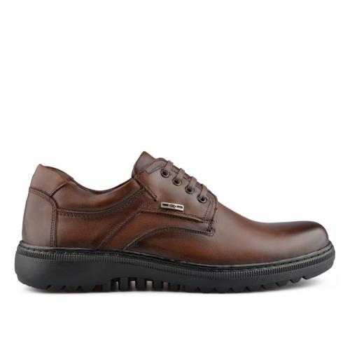 мъжки ежедневни обувки кафяви 0139514