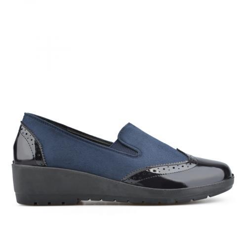 дамски ежедневни обувки сини 0135812