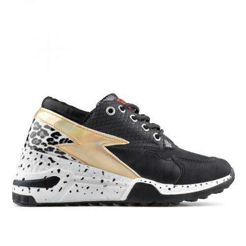 дамски ежедневни обувки черни 0138828