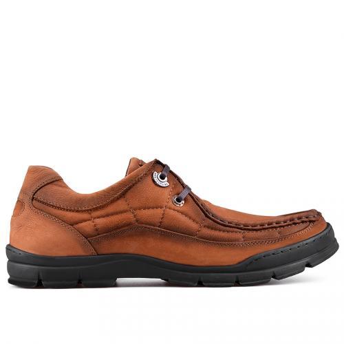 мъжки ежедневни обувки кафяви 0128779