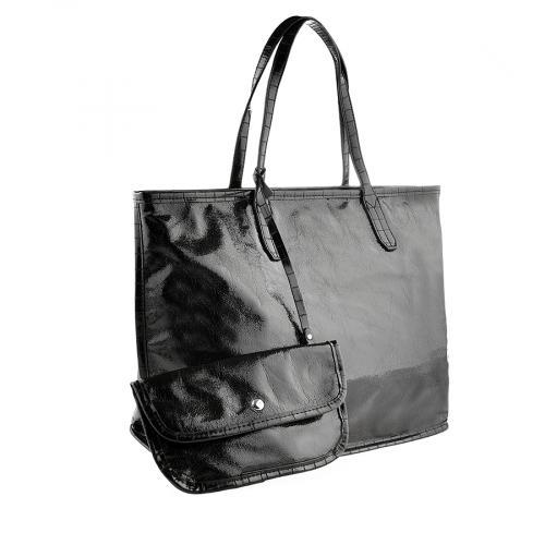 дамска ежедневна чанта черна 0140202